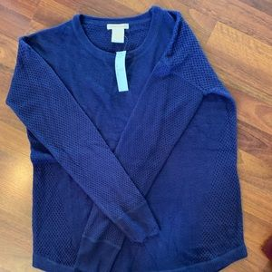 Brand New Purple Sweater- size small